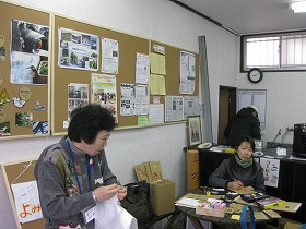三島街中カフェのスタッフ
