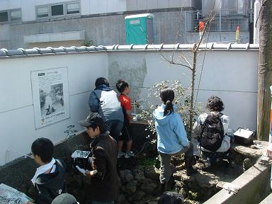【画像】桜川の川端(カワバタ)