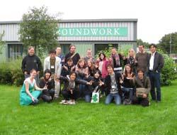 【画像】日英若者交流2008(英国GWブラックカントリー)での記念撮影の様子