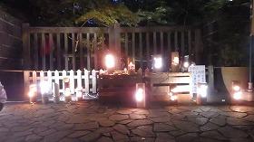 平成26年の竹あかりイベントの様子