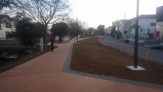 中郷温水池公園整備工事現場の状況1(2016年12月19日撮影)