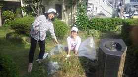 鎧坂公園整備作業