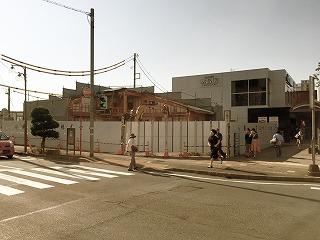 6/16三島市観光協会取り壊し状況