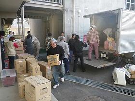 被災地への支援活動報告・1日目