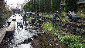 源兵衛川中流部環境再生ワンデイチャレンジ