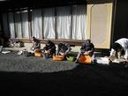11/10〜 三島そばの乾燥・分別作業を実施中!