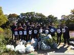 ファミリーマート伊豆営業所の皆様と松毛川の清掃活動