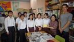 三島市立南中学校生徒会からGW三島のネパール支援活動に募金寄贈