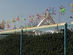 函南さくら保育園・ペットボトル風車づくり