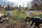 1/21・22 松毛川(灰塚川)千年の森づくり活動を実施しました