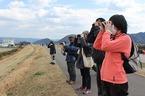 3/11 灰塚川(松毛川)植樹予定地整備作業・野鳥観察会を開催しました