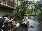 5/18 韓国KBSテレビが取材に訪れました