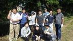 6/19松毛川(灰塚川)で伐竹林採作業を実施しました