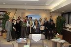 11/8静岡県知事への第37回緑の都市賞「都市緑化機構会長賞」受賞報告