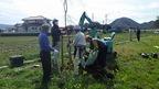 3/24松毛川「千年の森」づくり サクラ植樹体験会を実施しました