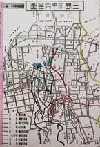 昭和9年作成「三島町市内全圖」について