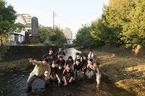 11/17源兵衛川下流部環境再生ワンデイチャレンジを実施