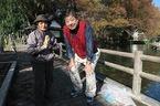 白滝公園沿い「白滝観音堂」を清掃するお方との出会い