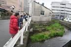 3/21源兵衛川の一斉清掃に向けた現場立会い