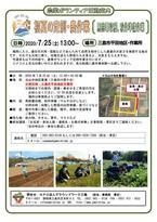 【参加者募集】7/25農業ボランティア定例作業(雨天作業:野菜の出荷準備・苗づくり)