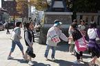 「子どもを元気に富士山支援募金」第13・14回街頭募金