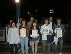 「子どもを元気に富士山支援募金」東京農工大学の学生による第1・2回街頭募金