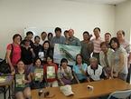 台湾から専門家など22人が来訪、活動視察・交流