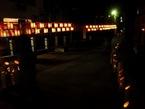竹明りイベント(三石神社)