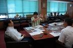9/10 豊岡武士三島市長と面談・松毛川や境川についてお願い