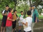 11/10境川・清住緑地子どもグリーンクラブ 第6回 木の葉や実で遊んでみよう