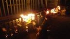6/8楽寿園正門前で「竹あかりイベント」を開催しました